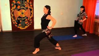 Йога в танце
