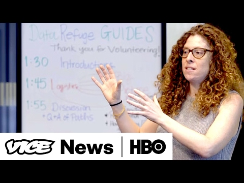 Saving Climate Data: VICE News Tonight on HBO (Full Segment)