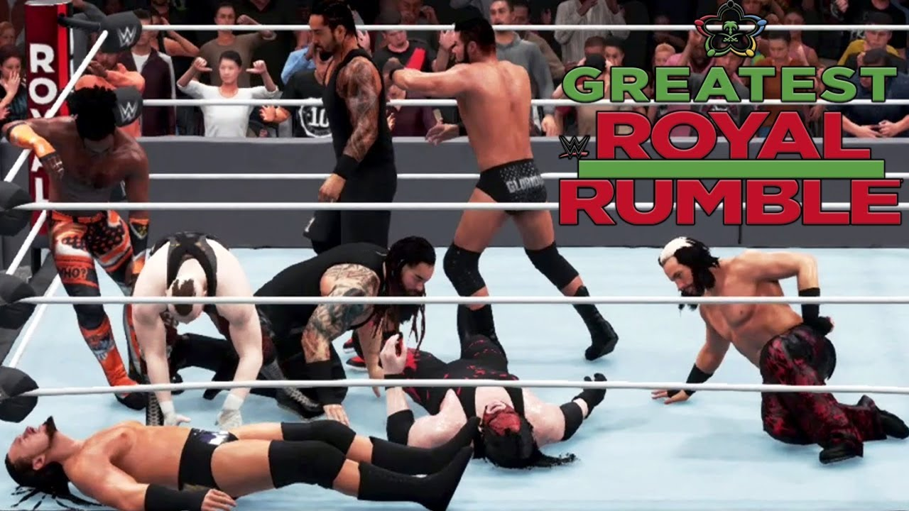 greatest royal rumble 2018 youtube