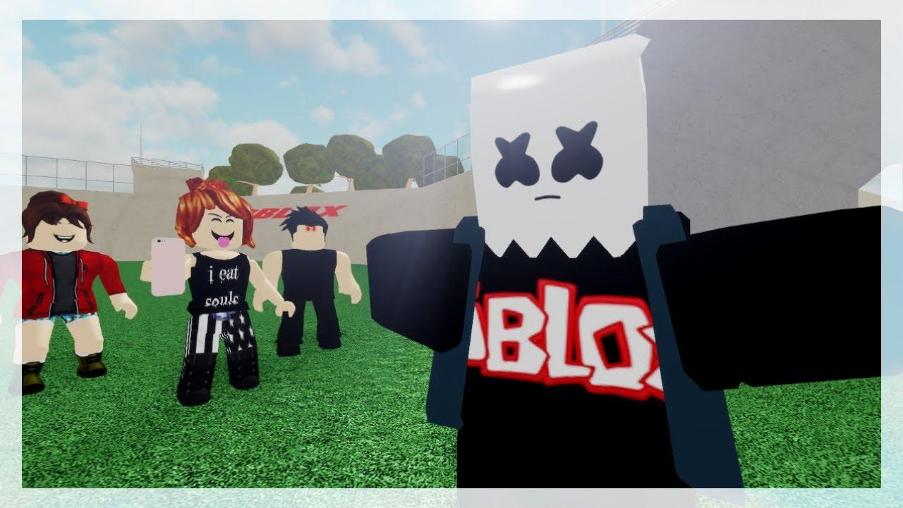 Roblox Bully Story Alone Marshmello Part 3 Youtube