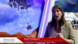 Rita Flaherty o sensorach Lockheed Martin dla AH-64E Apache [Defence24.pl TV]