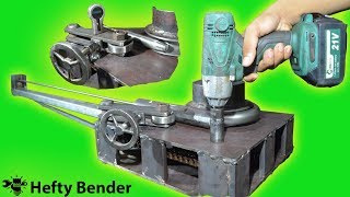 Making Stainless Pipe Bender Part 1 of 2