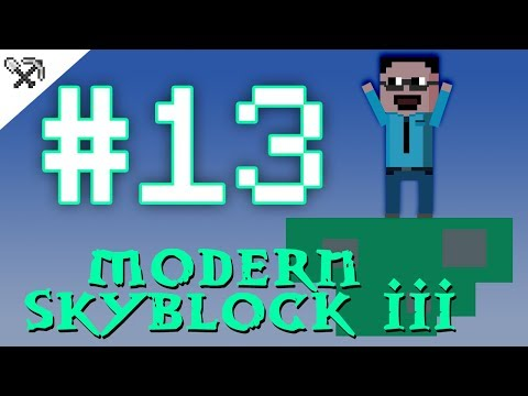 ①③ Magické květiny 🌻  - Modern Skyblock 3 #13