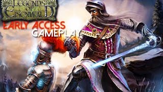 Legends of Eisenwald Early Access Gameplay (PC HD)