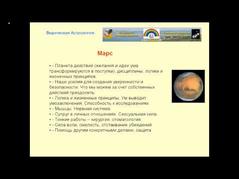 Астрология: Гороскоп: Планеты: Марс