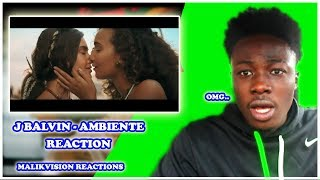 SO... ABOUT J BALVIN AMBIENTE MUSIC VIDEO.. A MALIKVISION REACTION VIDEO!
