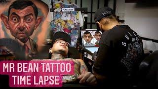 Mr Bean Tattoo Time Lapse