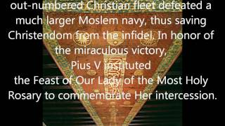 Giovanni Montini/Paul VI the Idolater : Anti-Pope/ Muslim Standard of Lepanto/