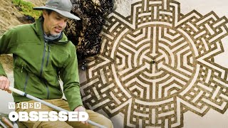 How This Guy Makes Amazing Sand Art | Obsessed | WIRED