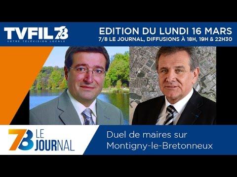 7/8 Le Journal – Edition du lundi 16 mars 2015