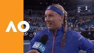 Kiki Bertens On Court Interview (3r) | Australian Open 2020