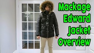 Men's Mackage Edward Winter Jacket Parka Overview/Review