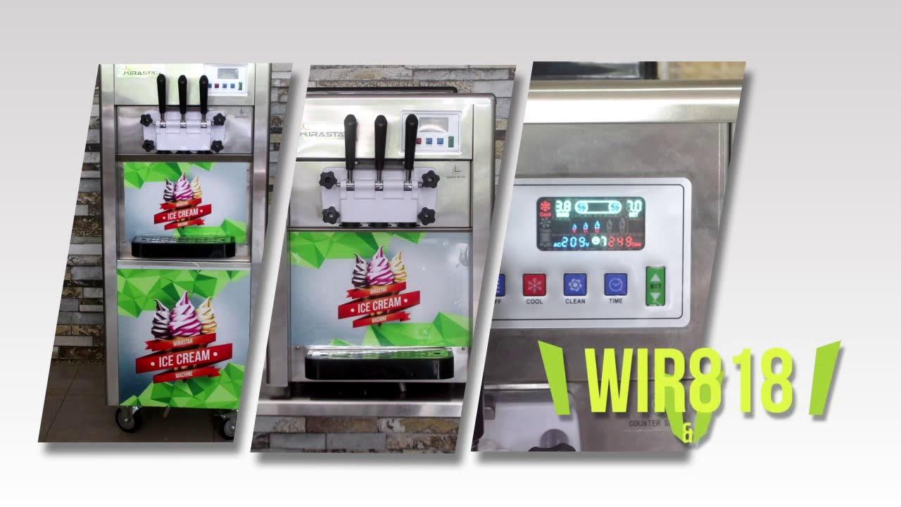 cara kerja mesin es krim otomatis