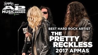 APMAs 2017 Best Hard Rock Band Winner: THE PRETTY RECKLESS