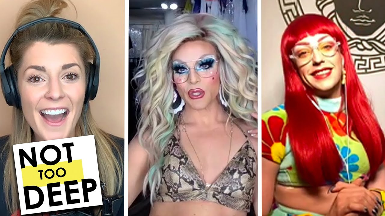 WILLAM & LANGANJA ESTRANJA on #NotTooDeep // Grace Helbig
