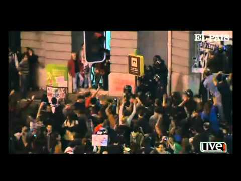 Protests In Spain get out of Control - September 2012