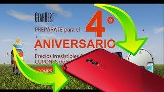 Cuarto Aniversario de Gearbest - Puedes Ganar un UMIDIGI S2 Lite !!!