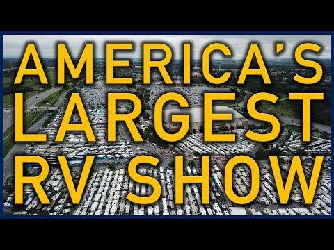"Hershey RV Show: America's ""Largest"" RV Show (Rough Cut) - Traveling Robert"
