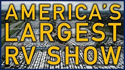 "Hershey RV Show: America's ""Largest"" RV Show (Rough Cut) - Traveling Robert"