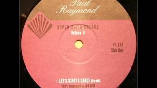 Hamilton Bohannon - lets start a dance (re-edit)