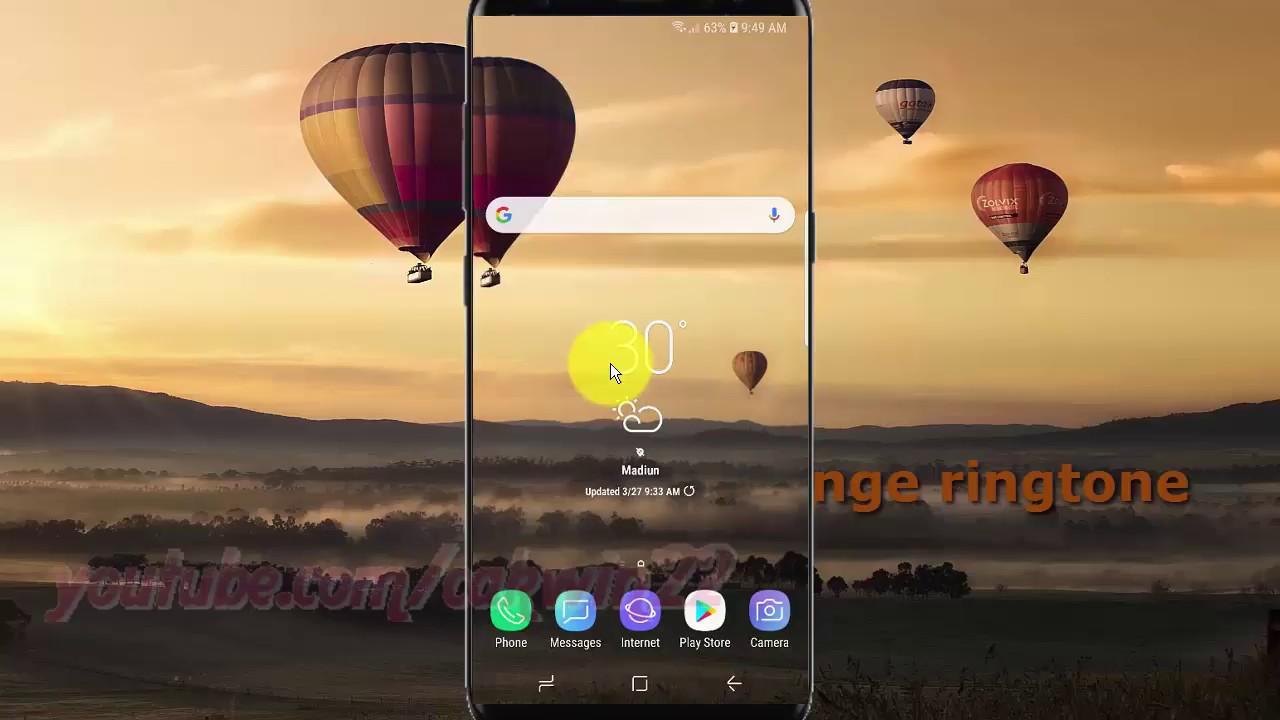 Samsung Galaxy S9 : How to Change ringtone (Android Oreo)