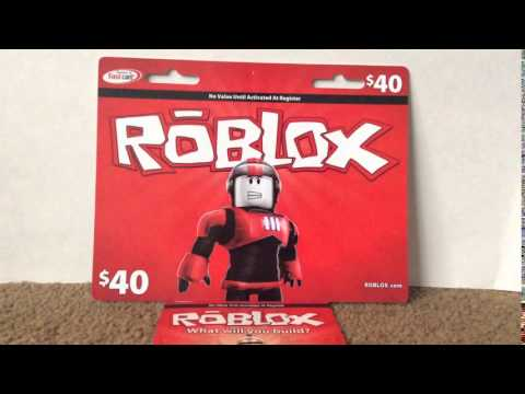 $40 dollar roblox card giveaway for 60 subscribers - YouTube