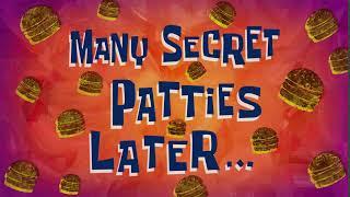 Many Secret Patties Later... | SpongeBob Time Card #145