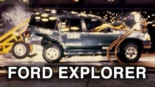 1997 Ford Explorer | Rear Crash Test (Fire Potential) by NHTSA | CrashNet1
