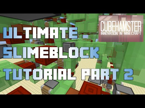 Ultimate Slimeblock Tutorial (Part 2): Sequential Piston Mechanics