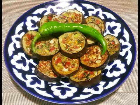 Вкусный ужин из простых продуктов! Гениальные БАКЛАЖАНЫ готовлю только так / Eggplant