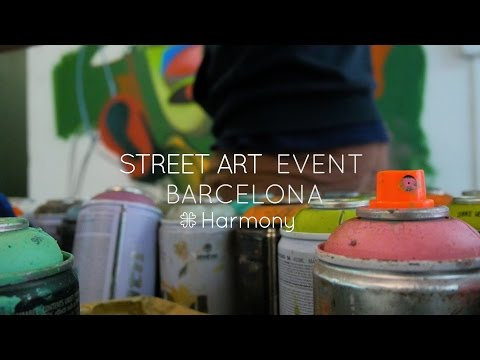 Harmony HQ Street Art Event Barcelona