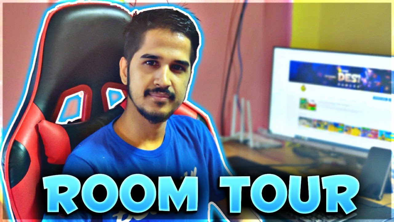 1 Crore $ Room Tour 😂😂😂 - Desi Gamers