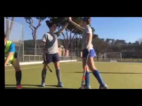 #MannequinChallenge con le Azzurre della Nazionale Italiana di Hockey su Prato