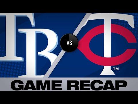 Cruz's go-ahead double leads Twins | Rays-Twins Game Highlights 6/26/19