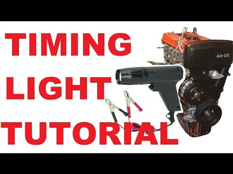 How To Set Timing Using A Timing Light