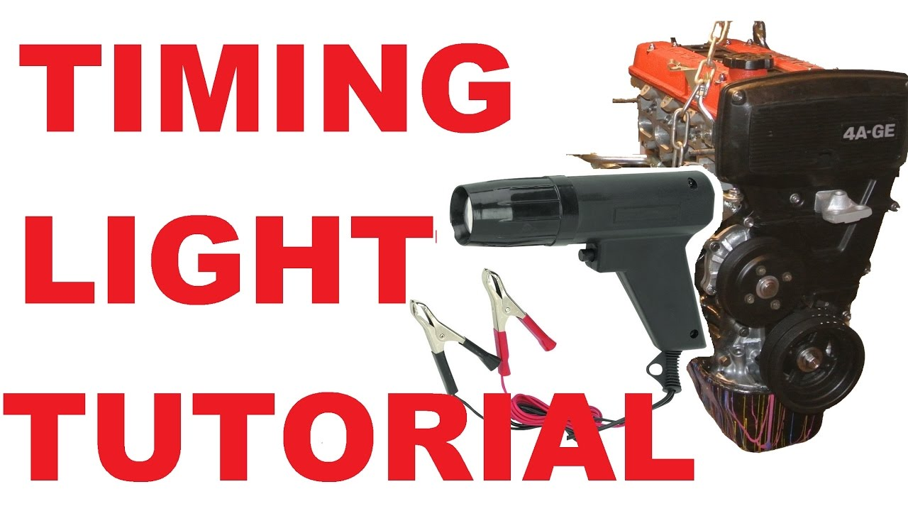 How to set timing using a timing light  YouTube