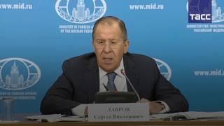 Лавров  доказательства  кибератак РФ на западные страны  высосаны из пальца