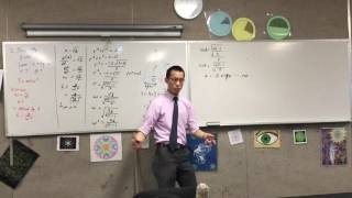 Conical Pendulum Example (2 of 2: Finding angular velocity & tension)