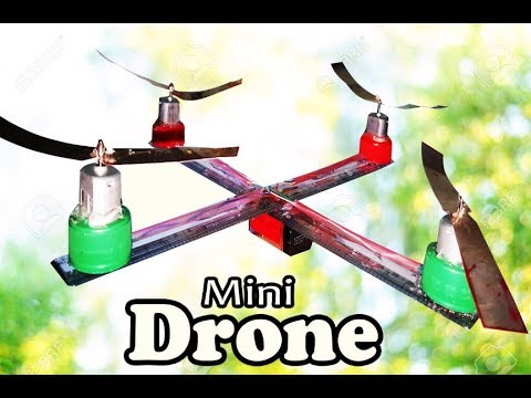 How To Make A Mini Drone At Home