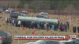 Funeral held for fallen soldier from Upstate