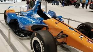 2018 IndyCar Race Car - Walkaround - Honda Stand at Chicago Auto Show 2019