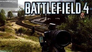 Battlefield 4 (SRR-61) Snajper Niewidzialny
