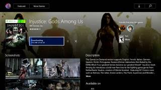 New Xbox One Backwards Compatibile Games INJUSTICE ; GODS AMONG US and HAUNTED HOUSE