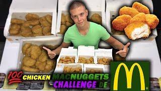 100 CHICKEN MCNUGGETS CHALLENGE de McDonald