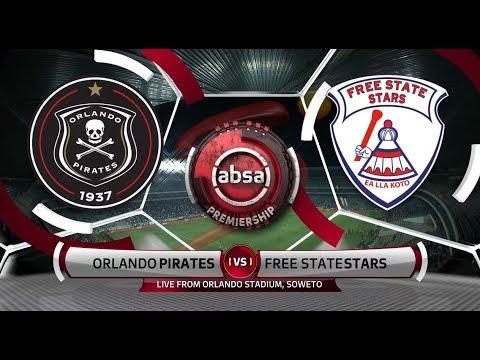 Orlando Pirates Vs Free State Stars