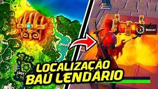 COMO ENCONTRAR O NOVO BAÚ LENDÁRIO NO FORTNITE (Temporada 8)