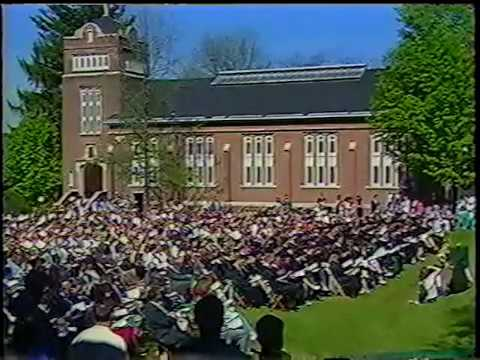 Bethany College, WV Graduation May 24, 1997