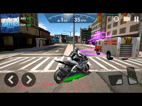Ultimate Motorcycle Simulator #5 Best Bike - Android Gameplay FHD