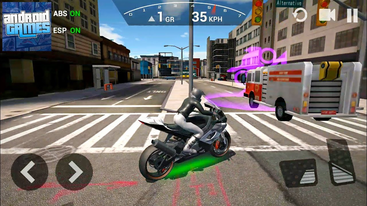 Ultimate Motorcycle Simulator #5 Best Bike – Android Gameplay FHD
