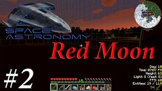 Red Moon - Minecraft Space Astronomy Indonesia #2